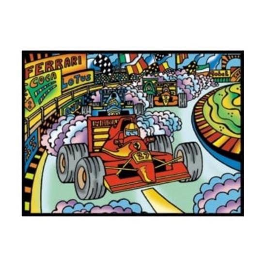 Picture of Платно за боење, А4, Кадифено, +12 фломастери, COLORVELVET, Формула, SMALL13