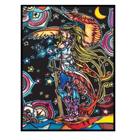 Слика на Платно за боење, Кадифено, +12фломас., COLORVELVET, Ангел воин, L120, 35*47*0цм